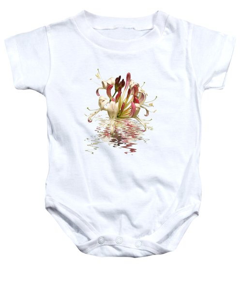 Honeysuckle Reflections Baby Onesie