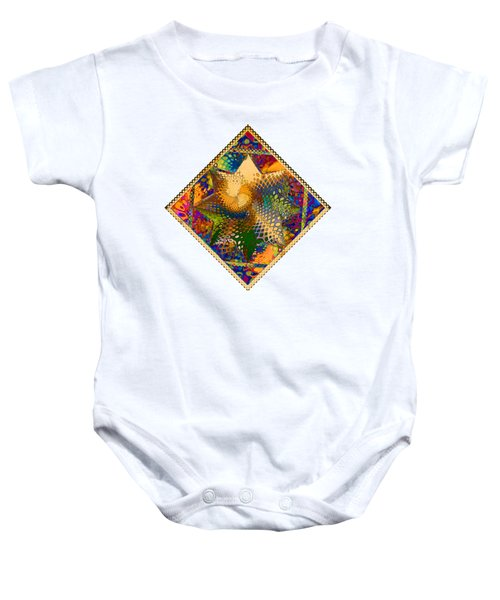 As Psychedelic As Possible Baby Onesie