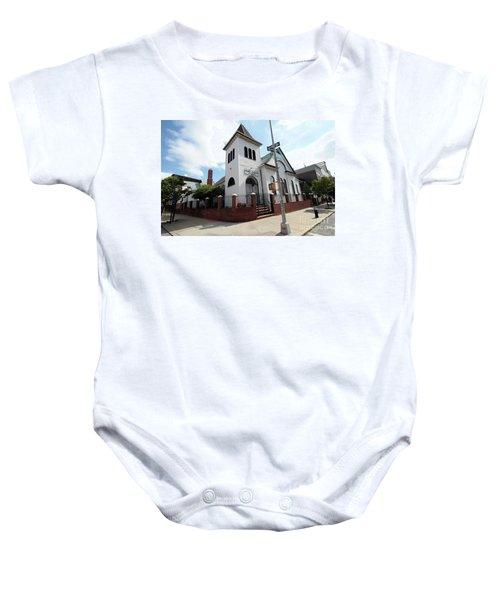 Asamblea Evangelica Evergreen Church Baby Onesie