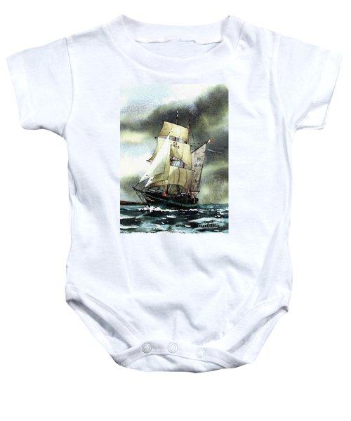 F  758  Asgard 11 Often Sailed Along The Wild Atlantic Way Baby Onesie