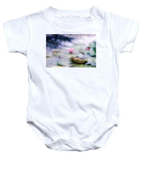 At Claude Monet's Water Garden 12 Baby Onesie