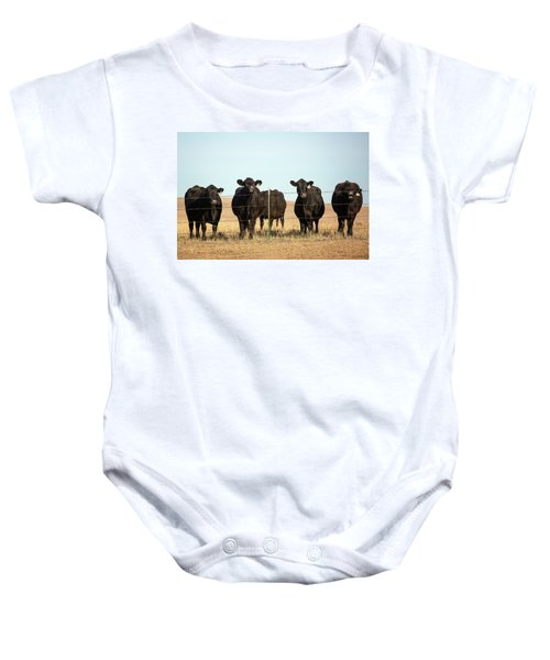 At The Fence Baby Onesie