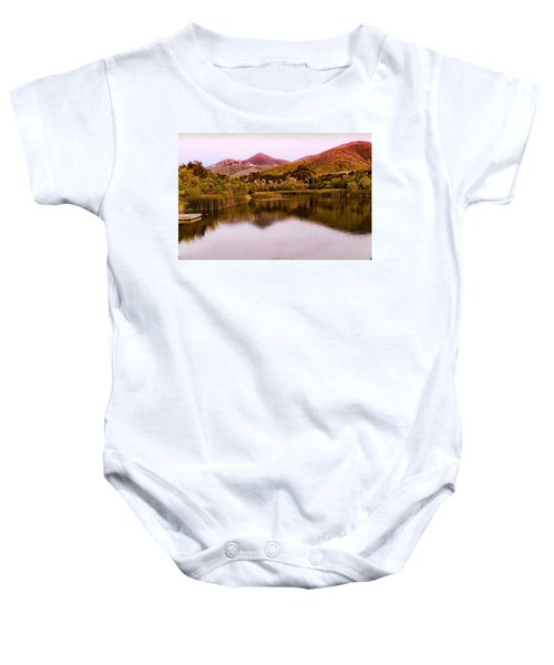 At The Lake Baby Onesie