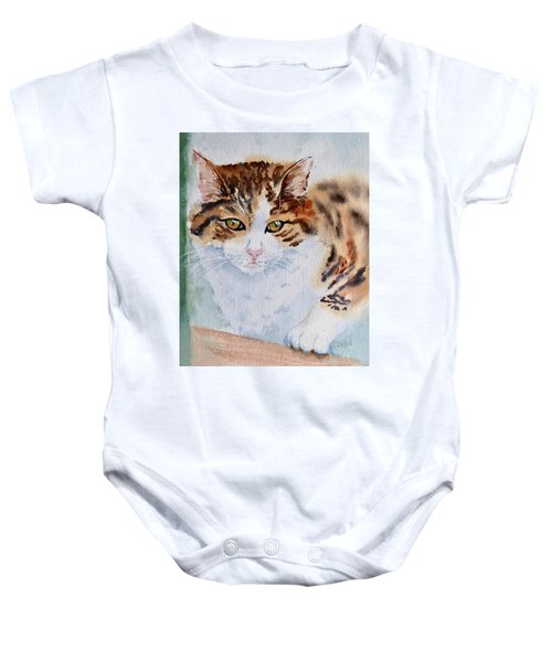 At The Window Baby Onesie