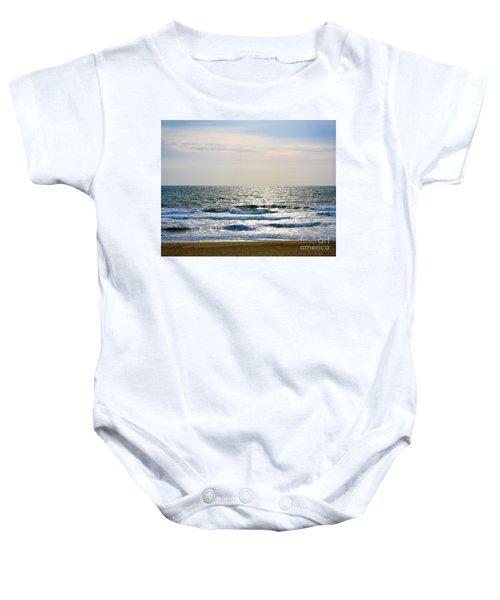 Atlantic Sunrise - Sandbridge Virginia Baby Onesie