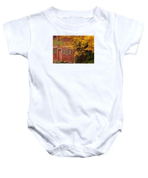 Autumn Barn Baby Onesie