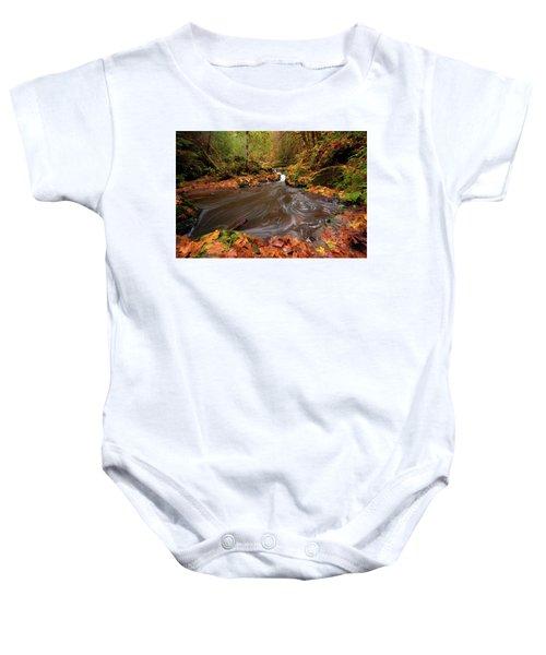 Autumn Flow Baby Onesie