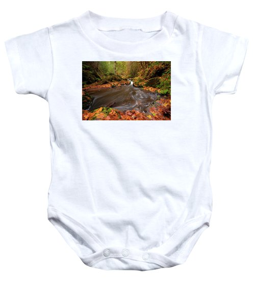 Autumn Flow Baby Onesie