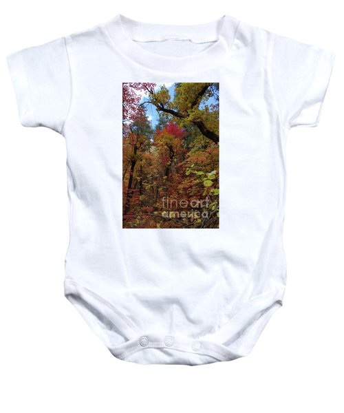 Autumn In Sedona Baby Onesie