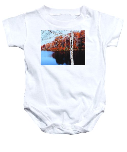 Autumn Lake Baby Onesie