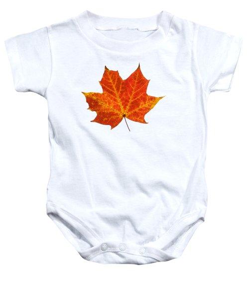 Autumn Leaf 3 Baby Onesie