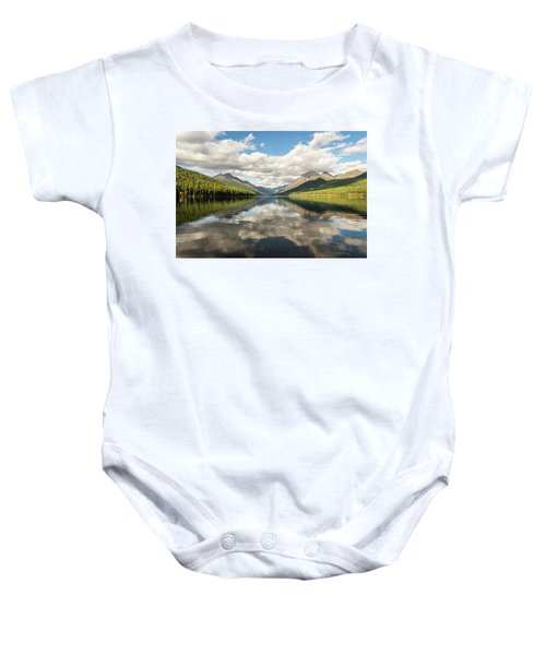 Avenue To The Mountains Baby Onesie