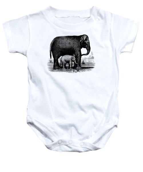 Baby Elephant T-shirt Baby Onesie