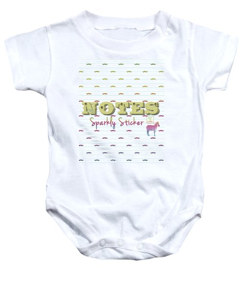 Back To School Baby Onesie by La Reve Design