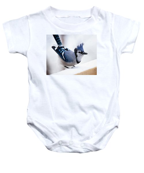 Bad Feather Day Baby Onesie