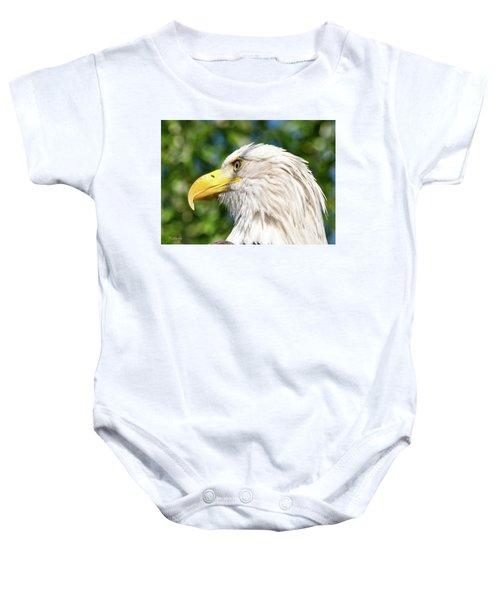 Bald Eagle Baby Onesie