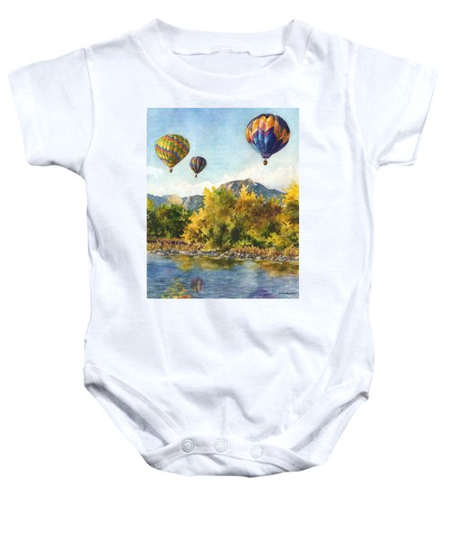 Balloons At Twin Lakes Baby Onesie