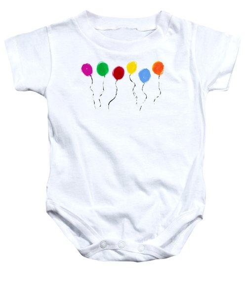 Balloons  Baby Onesie
