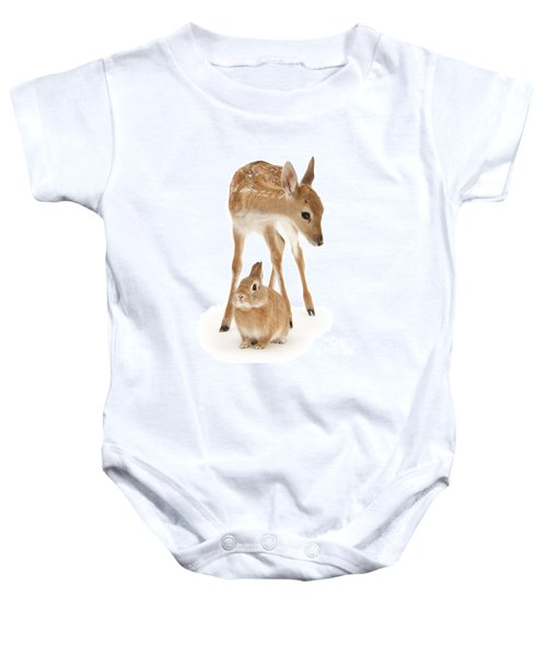 Bambi And Thumper Baby Onesie