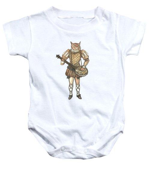 Banjo Cat Baby Onesie