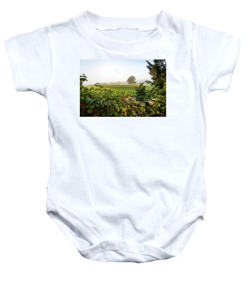 Misty Meadow Baby Onesie