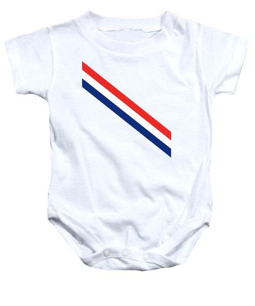 Barber Stripes Baby Onesie