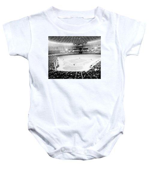 Baseball: Astrodome, 1965 Baby Onesie