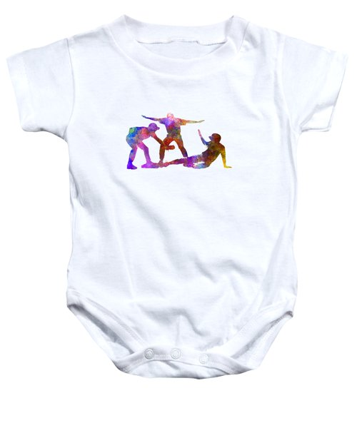 Baseball Players 03 Baby Onesie