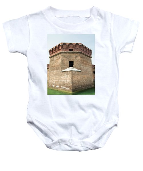 Bastion At Ft Jefferson Baby Onesie