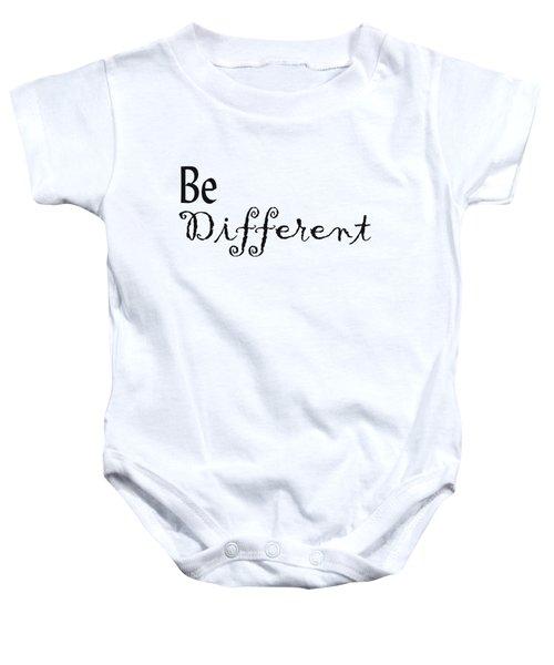 Be Different Baby Onesie