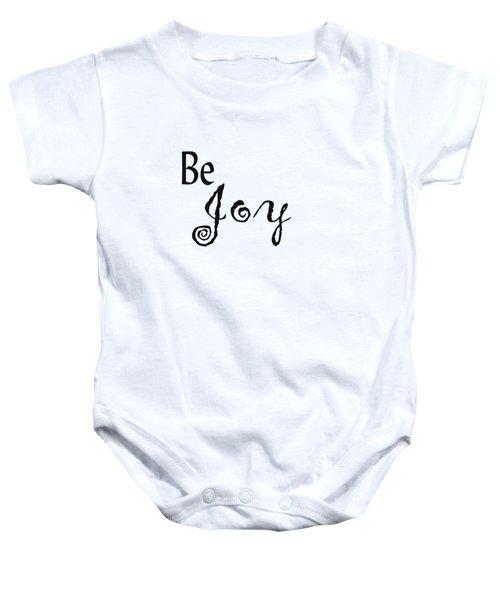 Be Joy Baby Onesie
