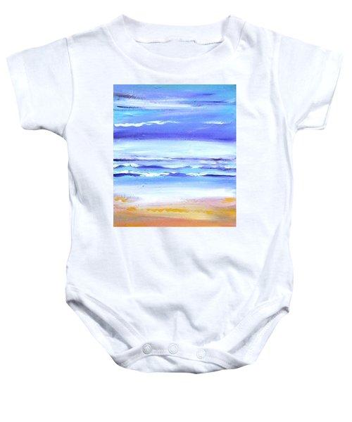 Beach Dawn Baby Onesie