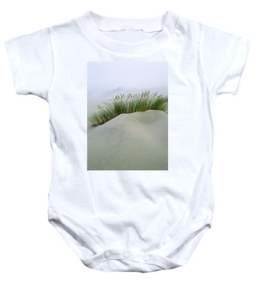 Beach Grass And Dunes Baby Onesie