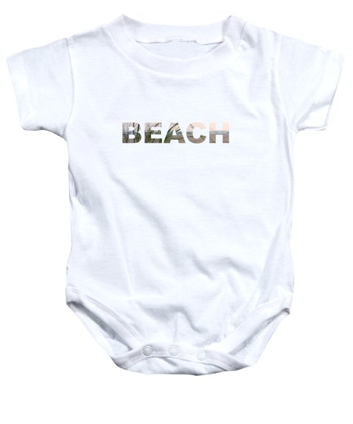 Beach Baby Onesie by Laura Kinker