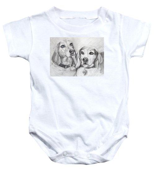 Beagle Boys Baby Onesie