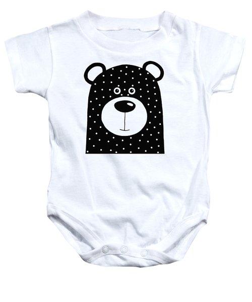 Bean Bear Baby Onesie