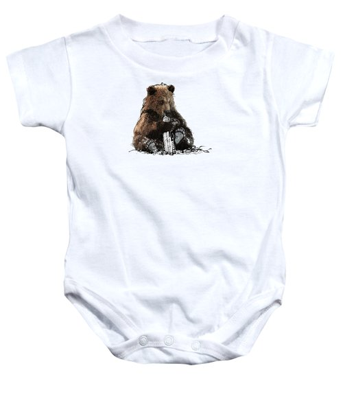 Bear Loves Ny Baby Onesie by Devlin