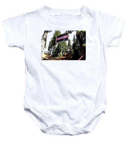 Bearclaw Sponsorship Baby Onesie
