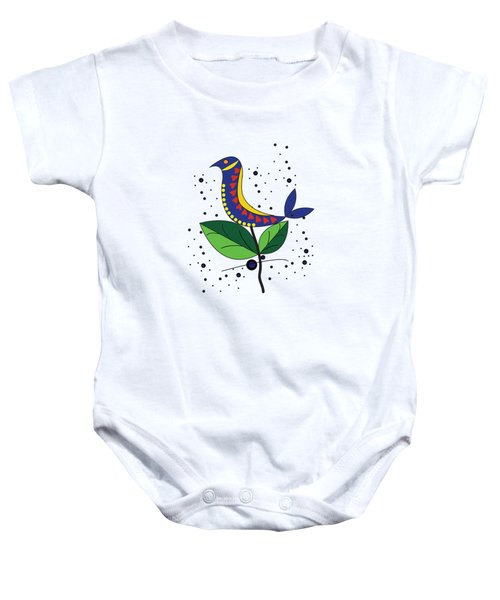 Beautiful Bird Baby Onesie
