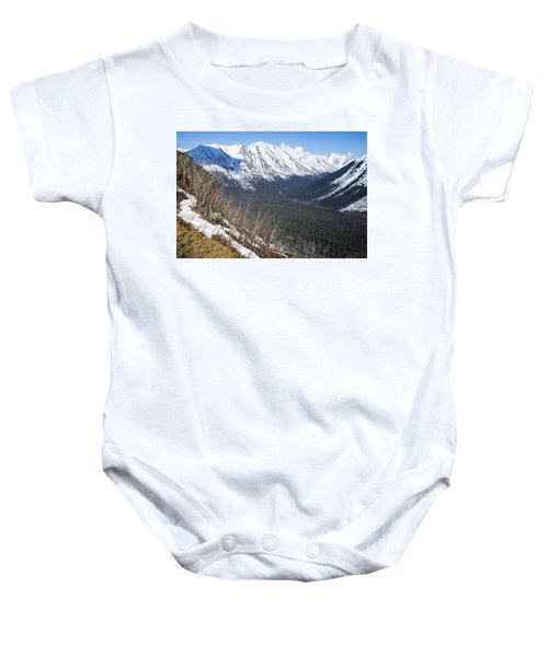 Beckoning Valley Baby Onesie