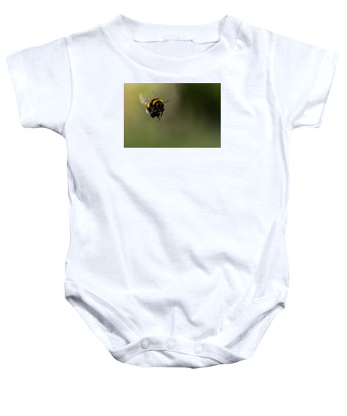 Bee Flying - View From Front Baby Onesie