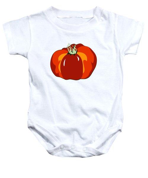 Beefsteak Tomato Baby Onesie