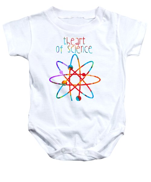 Beginnings Abstract Baby Onesie by Nikki Marie Smith