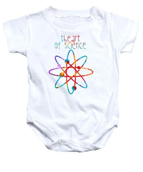 Beginnings Abstract Baby Onesie