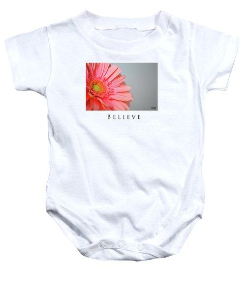 Believe Baby Onesie