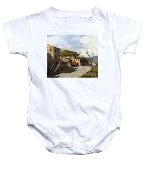 Provincia Di Benevento-italy Small Town The Road Home Baby Onesie
