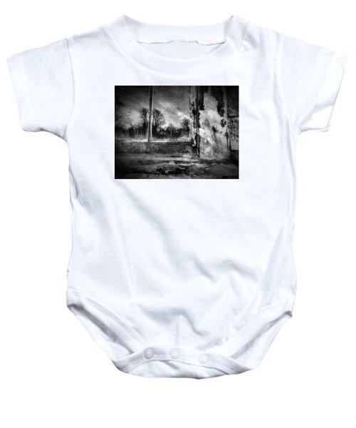 Benjamin Nye Window Baby Onesie