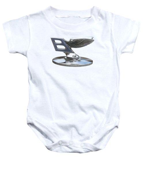 Bentley Logo Baby Onesie