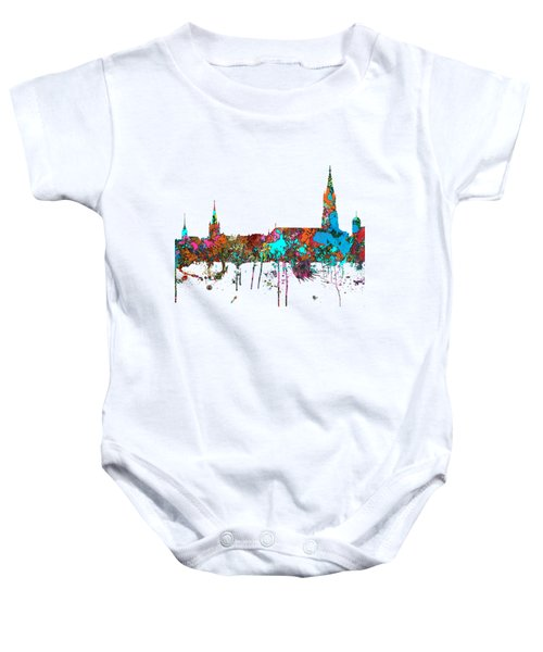 Berne Switzerland Skyline Baby Onesie
