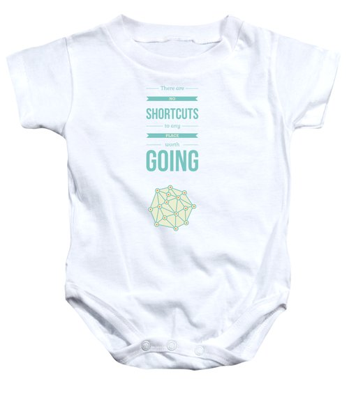 Beverly Hills Typography Quotes Poster Baby Onesie